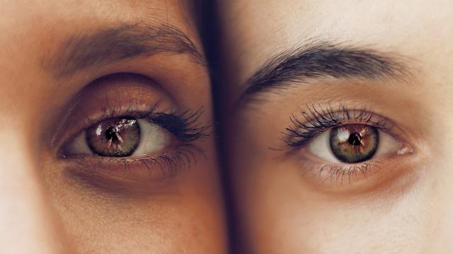 odraz očí