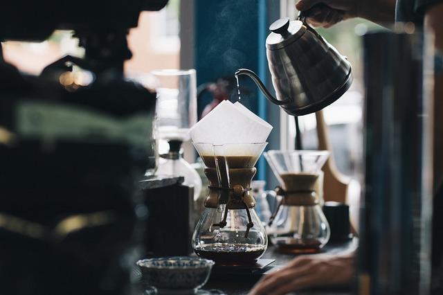 výroba kávy