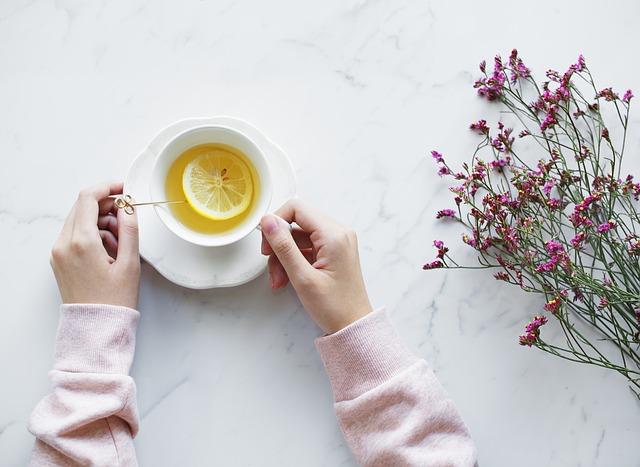 Šálka, citrón, zdravie, nápoj, odpočinok.jpg
