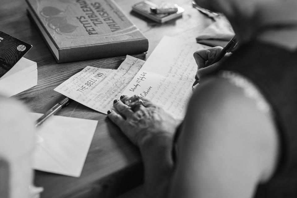 písanie svadobných oznámení